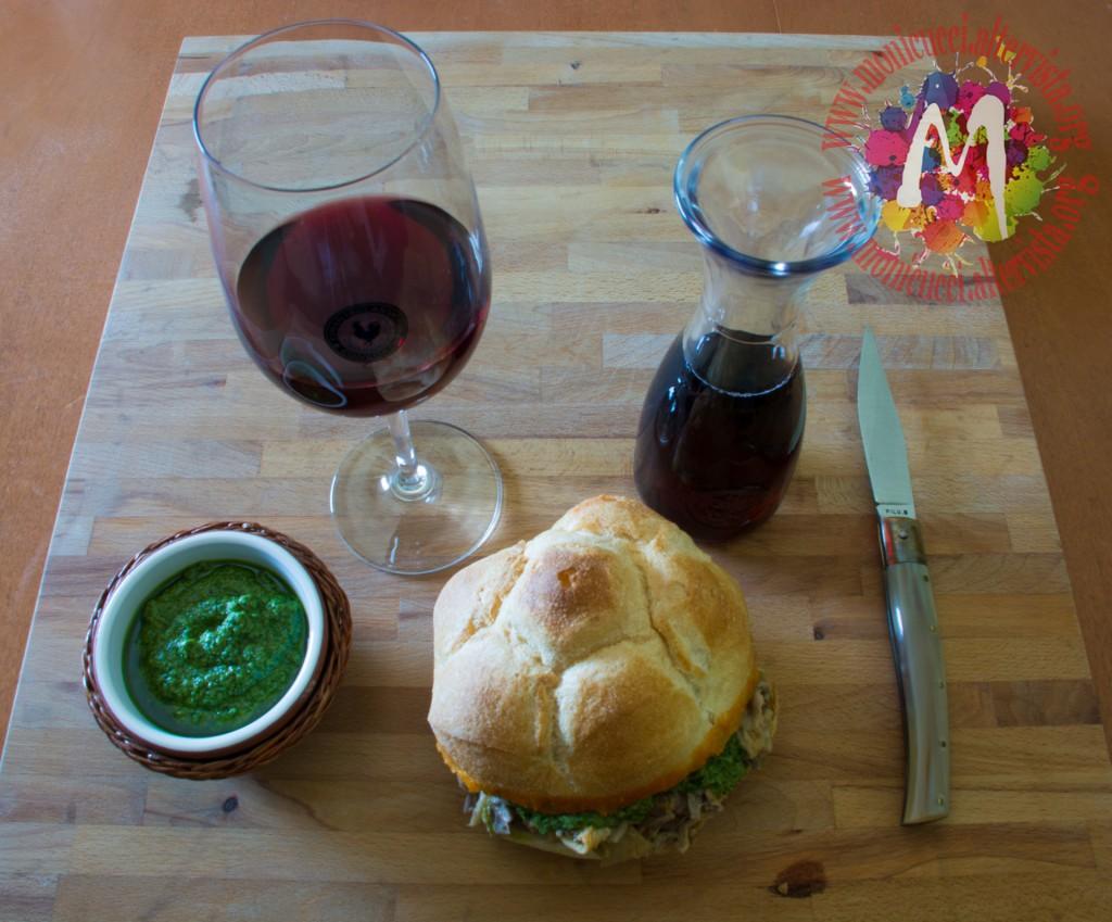 Panino con lampredotto e salsa verde4