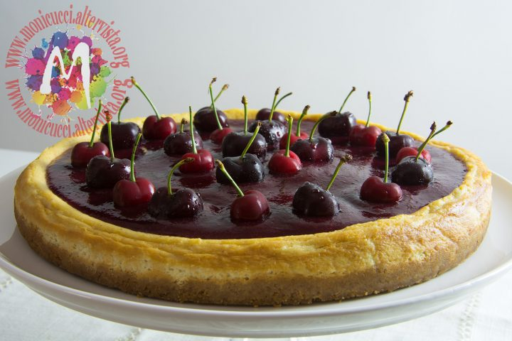 Cherry Cheesecake alla vaniglia e cioccolato bianco6