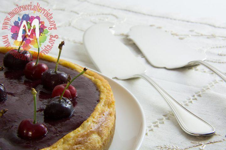 Cherry Cheesecake alla vaniglia e cioccolato bianco8