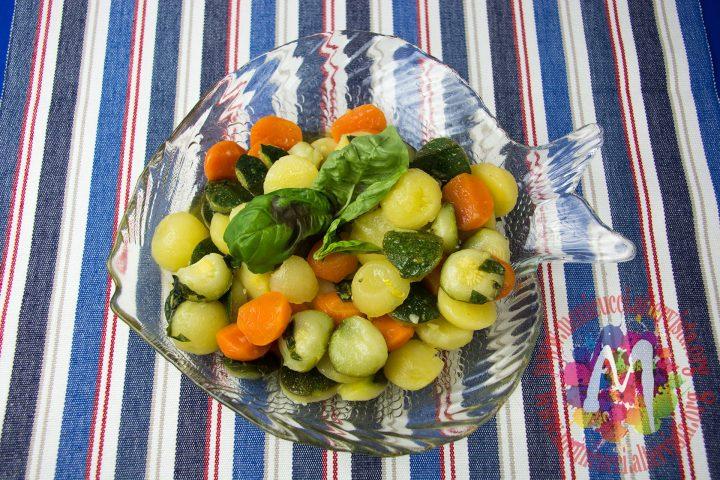 Bocconcini dell'orto croccanti con vinaigrette aromatica2