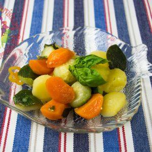 Bocconcini dell'orto croccanti con vinaigrette aromatica1
